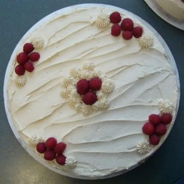 Vanilla-Rosewater Cake